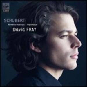 Momenti musicali - Improvvisi - CD Audio di Franz Schubert,David Fray