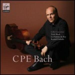 Concerti per violoncello - CD Audio di Carl Philipp Emanuel Bach,Truls Mork,Violons du Roy,Bernard Labadie