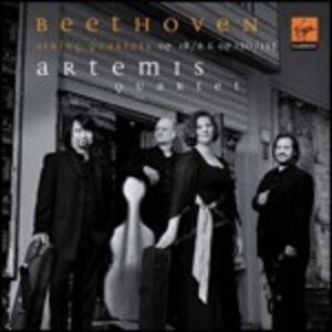 Quartetti per archi op.18 n.6, op.130, op.133 - CD Audio di Ludwig van Beethoven,Artemis Quartet