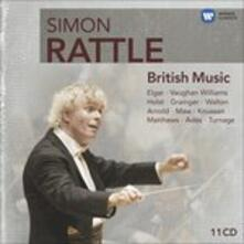 Musica inglese (Box Set) - CD Audio di Simon Rattle