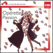 Opérette Passion - CD Audio