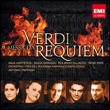 Messa da Requiem - CD Audio di Giuseppe Verdi,Rolando Villazon,René Pape,Anja Harteros,Sonia Ganassi,Antonio Pappano,Orchestra dell'Accademia di Santa Cecilia