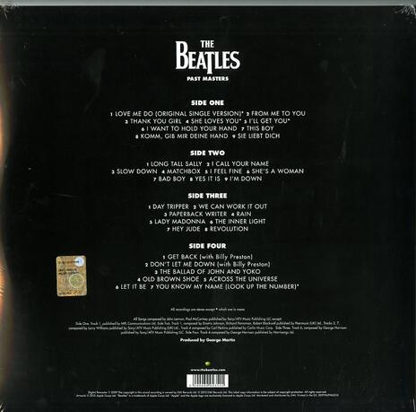 Past Masters vol. 1 & 2 (180 gr.) - Vinile LP di Beatles - 2