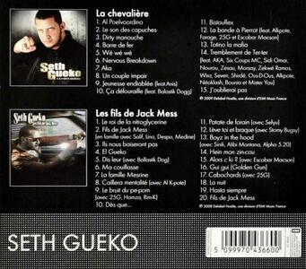 La Chevaliere. Les Fils - CD Audio di Seth Gueko - 2