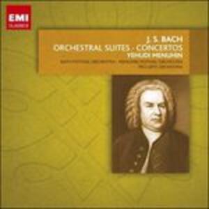 Musica orchestrale - CD Audio di Johann Sebastian Bach,Yehudi Menuhin