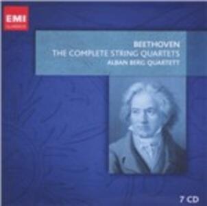 Quartetti per archi completi - CD Audio di Ludwig van Beethoven,Alban Berg Quartett