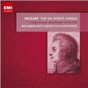 Le nozze di Figaro - Don Giovanni - Così fan tutte - CD Audio di Wolfgang Amadeus Mozart,Riccardo Muti