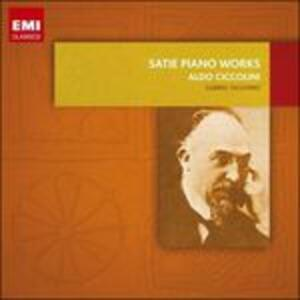 Musica per pianoforte - CD Audio di Erik Satie,Aldo Ciccolini