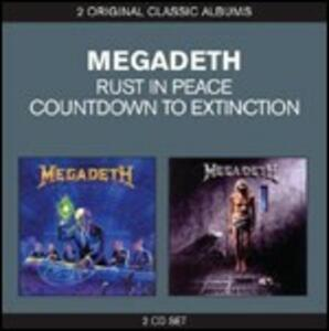 Countdown to Extinction - Rust in Peace - CD Audio di Megadeth