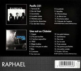 Pacific 231 - CD Audio di Raphael - 2