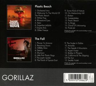 Plastic Beach- Fall - CD Audio di Gorillaz - 2