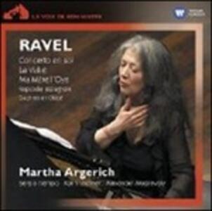 Concerto in Sol - Ma mère l'Oye - La Valse - Rapsodie espagnole - Daphnis et Chloé - CD Audio di Maurice Ravel,Martha Argerich,Orchestra della Svizzera Italiana