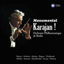 Monumental Karajan! - CD Audio di Herbert Von Karajan