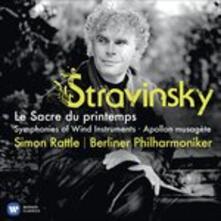 La sagra della Primavera (Le sacre du Printemps) - CD Audio di Igor Stravinsky,Berliner Philharmoniker,Simon Rattle