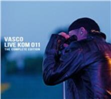 Live Kom 011. The Complete Edition - CD Audio + DVD di Vasco Rossi