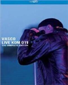 Live Kom 011. The Complete Edition - CD Audio + Blu-ray di Vasco Rossi