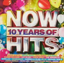 Now. 10 Years of Hits - CD Audio
