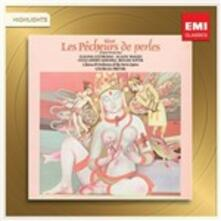 I pescatori di perle (Les pêcheurs de perles) - CD Audio di Georges Bizet,Georges Prêtre