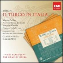 Il Turco in Italia - CD Audio di Maria Callas,Nicolai Gedda,Nicola Rossi-Lemeni,Gioachino Rossini,Orchestra del Teatro alla Scala di Milano,Gianandrea Gavazzeni