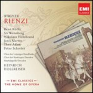 Rienzi - CD Audio di Richard Wagner,René Kollo,Peter Schreier,Theo Adam,Staatskapelle Dresda,Heinrich Hollreiser
