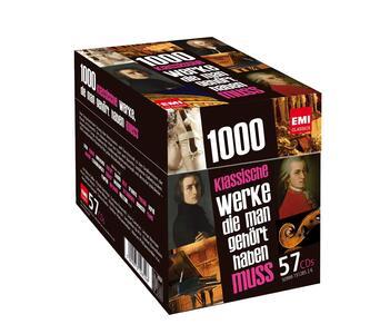 1000 Klassische Werke. die Man Gehort Haben Muss - CD Audio