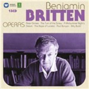 Opere - CD Audio di Benjamin Britten