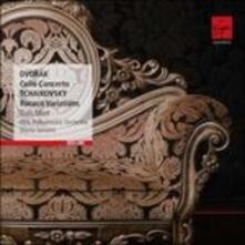 Concerto per violoncello / Variazioni Rococò - CD Audio di Antonin Dvorak,Pyotr Ilyich Tchaikovsky,Truls Mork