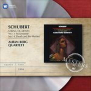 Quartetti per archi n.13, n.14 - CD Audio di Franz Schubert,Alban Berg Quartett
