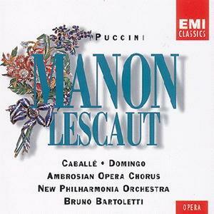 Manon Lescaut - CD Audio di Montserrat Caballé,Placido Domingo,Giacomo Puccini,New Philharmonia Orchestra,Bruno Bartoletti