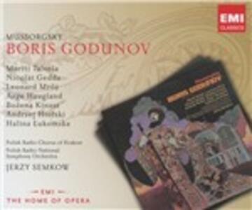 Boris Godunov - CD Audio di Modest Petrovich Mussorgsky,Nicolai Gedda,Martti Talvela,Polish National Radio Symphony Orchestra,Jerzy Semkow