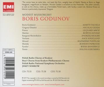 Boris Godunov - CD Audio di Modest Petrovich Mussorgsky,Nicolai Gedda,Martti Talvela,Polish National Radio Symphony Orchestra,Jerzy Semkow - 2