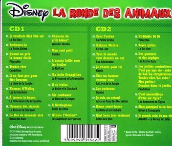 La Ronde des Animaux - CD Audio - 2