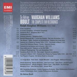 Musica orchestrale - CD Audio di Ralph Vaughan Williams,Sir Adrian Boult - 2