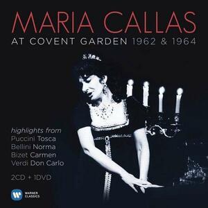 At Covent Garden 1962 & 1964 - CD Audio + DVD di Maria Callas