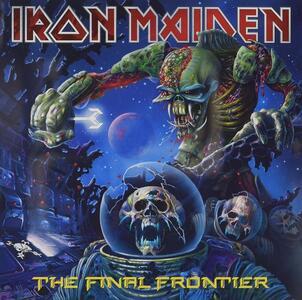 Final Frontier - CD Audio di Iron Maiden