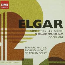 Sinfonie n.1, n.2 - Serenata - Cockaigne - CD Audio di Edward Elgar