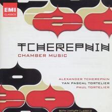 Alexander Tcherepnin. String Quartet No.2 - Piano Sonata No.1 - Suite for Solo Cello - CD Audio