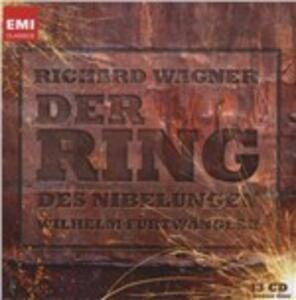 L'anello del Nibelungo (Der Ring des Nibelungen) - CD Audio di Richard Wagner,Wilhelm Furtwängler,Martha Mödl,Wolfgang Windgassen,Ludwig Suthaus,Orchestra Sinfonica RAI di Roma