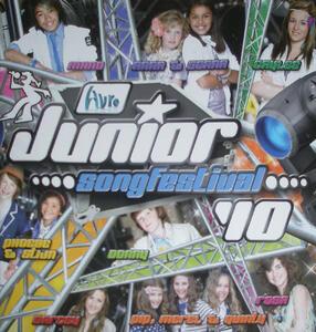 Junior Songfestival 2010 - CD Audio