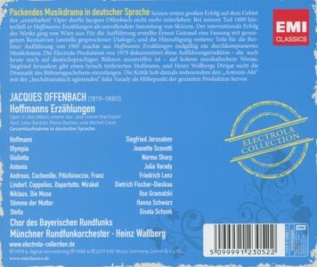 Hoffmanns Erzahlungen - in - CD Audio di Jacques Offenbach - 2