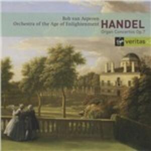 Concerti per organo - CD Audio di Bob Van Asperen,Georg Friedrich Händel