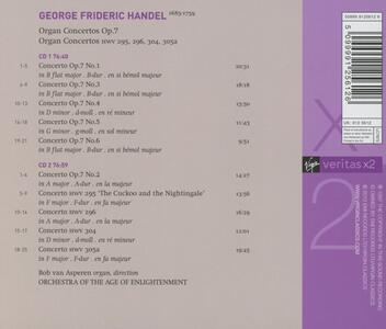 Concerti per organo - CD Audio di Bob Van Asperen,Georg Friedrich Händel - 2