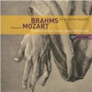 Un Requiem tedesco (Ein Deutsches Requiem) / Requiem - CD Audio di Johannes Brahms,Wolfgang Amadeus Mozart,Roger Norrington,London Classical Players