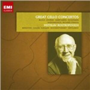Grandi concerti per violoncello - CD Audio di Mstislav Rostropovich
