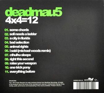 4x4=12 - CD Audio di Deadmau5 - 2