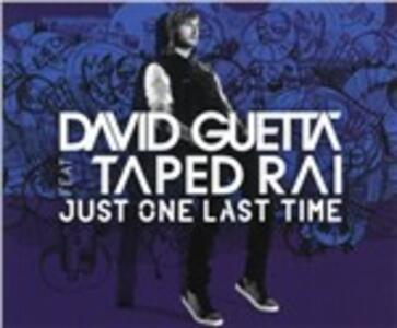 Just One Last Time - CD Audio Singolo di David Guetta