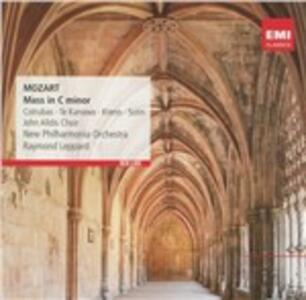 Messa in Do minore K427 - CD Audio di Wolfgang Amadeus Mozart,Raymond Leppard