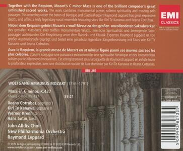 Messa in Do minore K427 - CD Audio di Wolfgang Amadeus Mozart,Raymond Leppard - 2