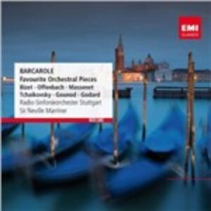 Barcarole - CD Audio di Neville Marriner,Radio Symphony Orchestra Stoccarda