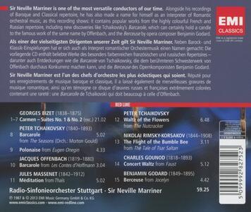 Barcarole - CD Audio di Neville Marriner,Radio Symphony Orchestra Stoccarda - 2
